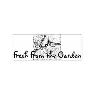 Frisch vom Garten Gummistempel