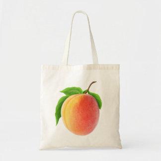 Frische Aprikose Budget Stoffbeutel