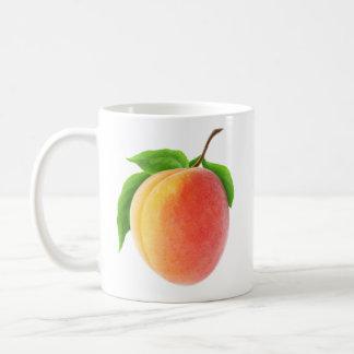 Frische Aprikose Tasse