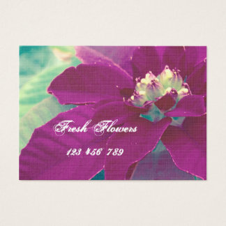 Frische Blumen-Geschäfts-Karten Visitenkarte
