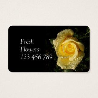 Frische Blumen-Geschäfts-Karten Visitenkarten