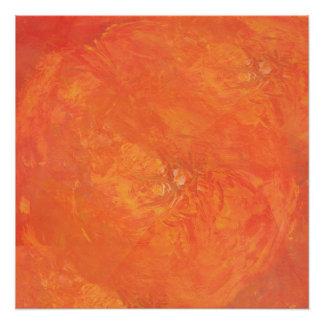 Frische Orangen Poster