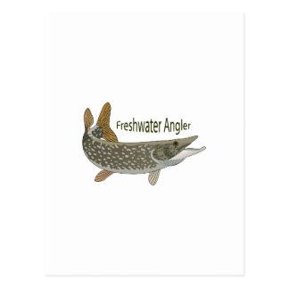 Frischwasserangler Postkarten