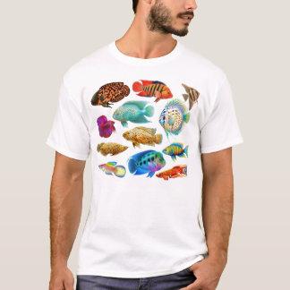 Frischwasseraquarium fischt T - Shirt