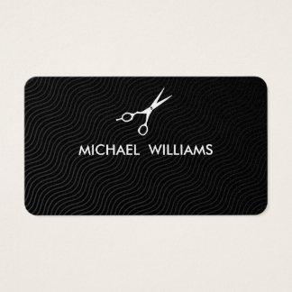 Friseur - eleganter Professioneller Wellen Visitenkarten