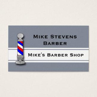 Friseur, Friseursalon-Visitenkarte-Schablone Visitenkarte