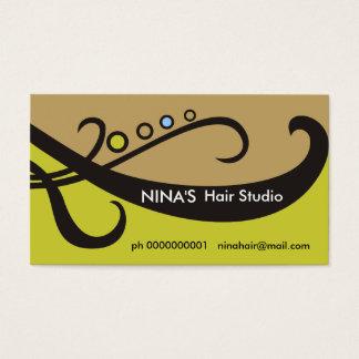 Friseur-/Hairstylist-Visitenkarten Visitenkarten