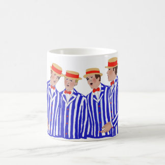 Friseursalon-Quartett Kaffeetasse