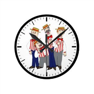 Friseursalon-Uhr Runde Wanduhr