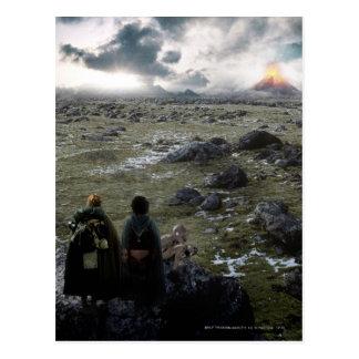FRODO™ und Samwise stehend Postkarte