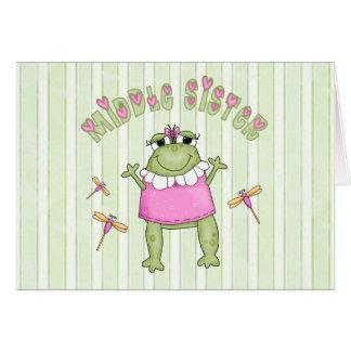 Froggie Mitte-Schwester Karte
