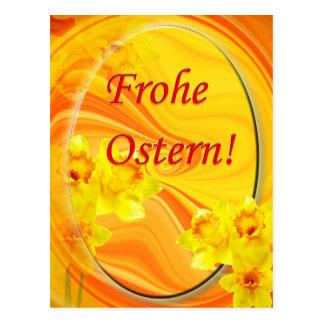 Frohe Ostern! Postkarte