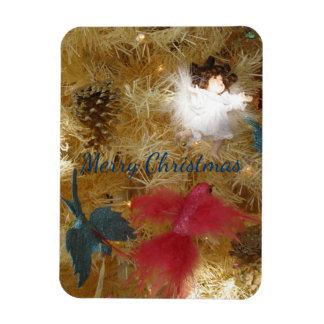 Frohe Weihnacht-Engel Magnet
