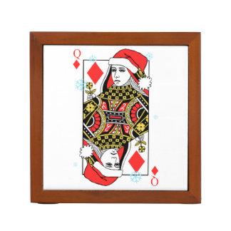 Frohe Weihnacht-Königin der Diamanten Stifthalter
