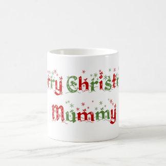 Frohe Weihnacht-Mama-Tasse Tasse