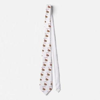 Frohe Weihnacht-Sankt-Yak Bedruckte Krawatte