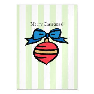 Frohe Weihnacht-Verzierungs-12x18 dünnes Magnetische Karte