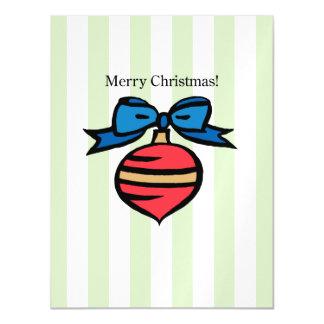 Frohe Weihnacht-Verzierungs-dünne magnetische Magnetische Karte