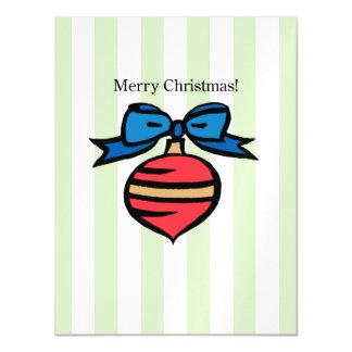 Frohe Weihnacht-Verzierungs-dünnes Magnetische Karte