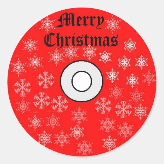 Frohe Weihnachten Cd.Frohe Weihnachten Cd Aufkleber