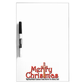 Frohe Weihnachten! Erinnern Sie sich! Trockenlöschtafel