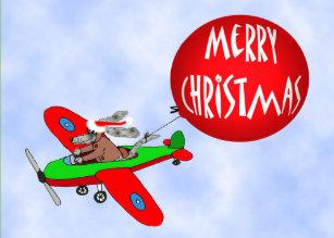 Frohe Weihnachten Flugzeug.Flugzeuge Geschenke Zazzle At