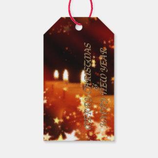 Frohe Weihnachten und ein guten Rutsch ins Neue Geschenkanhänger