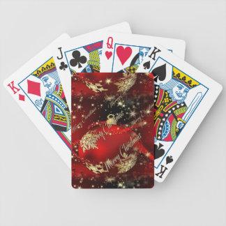 Frohe Weihnachten und ein guten Rutsch ins Neue Pokerkarten