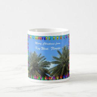 Frohe Weihnachten von Key West, Florida Kaffeetasse