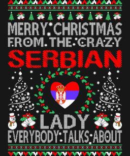 Frohe Weihnachten Serbisch.Serbisch Weihnachten Geschenke Zazzle At