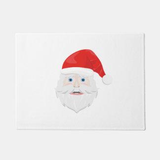 Frohe Weihnachten Weihnachtsmann Türmatte