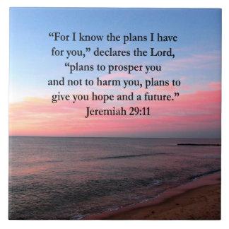 FROHER JEREMIAS-29:11 SONNENAUFGANG KERAMIKFLIESE