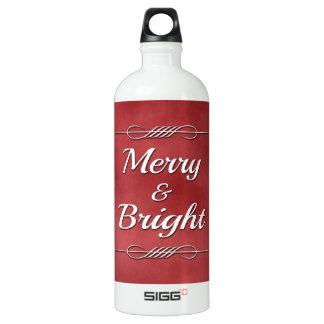 Fröhlich und hell aluminiumwasserflasche