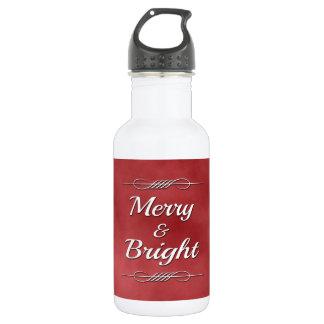 Fröhlich und hell trinkflasche
