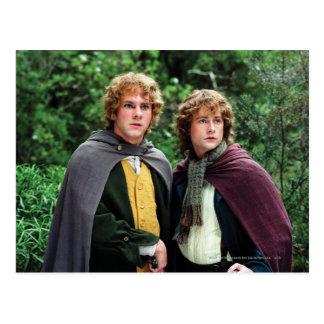 Fröhlich und Peregrin Postkarte