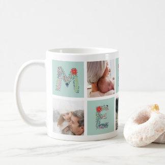 Fröhliche Art | Feiertags-Foto-Collagen-Tasse Tasse