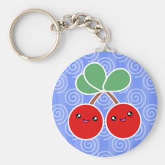 Fröhliche Kirschen Kawaii Keychain Schlüsselanhänger