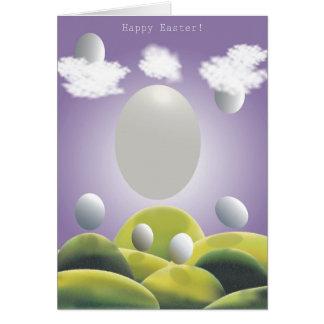 Fröhliche Ostern! Grußkarte