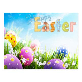 fröhliche Ostern Postkarte