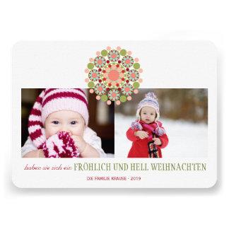 Fröhliche und Helle Weihnachtsgrüße Einladungen