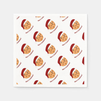 Fröhliches Cookiemas Papierserviette