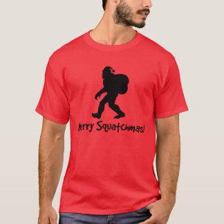 Fröhliches Squatchmas! T - Shirt