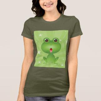 Frosch-amphibisch grüne Frosch-niedliches T-Shirt