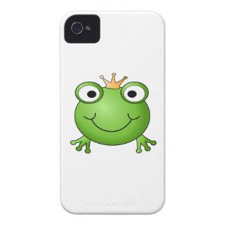 Frosch-Prinz. Glücklicher Frosch iPhone 4 Cover