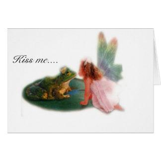 Frosch-Prinz Karte