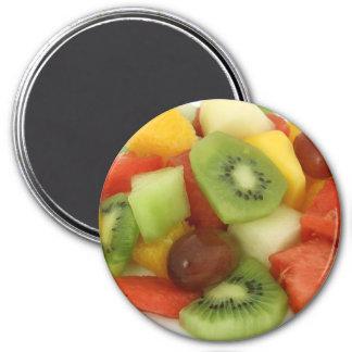 Frucht-Gemisch-NahrungsmittelKühlschrank-Magnet Runder Magnet 7,6 Cm
