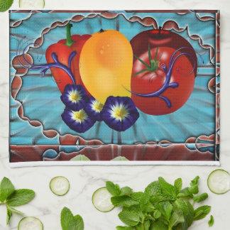 Frucht-Gemüse Handtuch