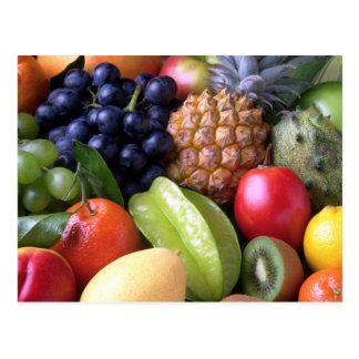 Frucht Postkarte