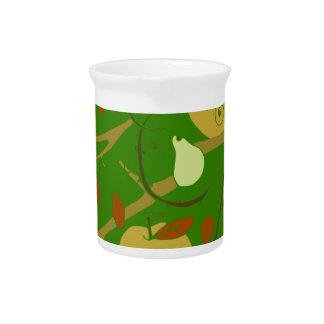 Frucht-Schablone Getränke Pitcher
