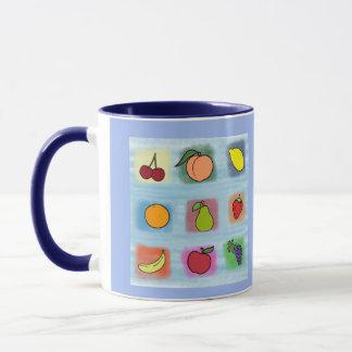 Frucht-Überraschung Tasse